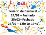 Feriado de Carnaval