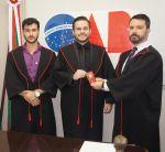 Entrega das Credenciais aos novos advogados