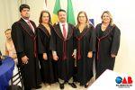 Cerimônia marca posse de nova diretoria e conselheiros da OAB