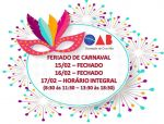 Feriado de Carnaval 2021